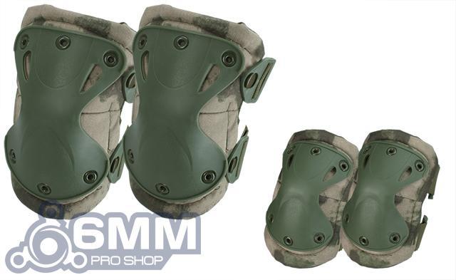 6mmProShop Tactical Knee & Elbow Pad Set - Arid Foliage