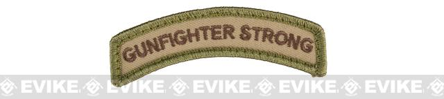Mil-Spec Monkey Gunfighter Strong Embroidered Hook and Loop Morale Patch - Multicam