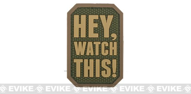 Mil-Spec Monkey Hey, Watch This! PVC Patch - Multicam