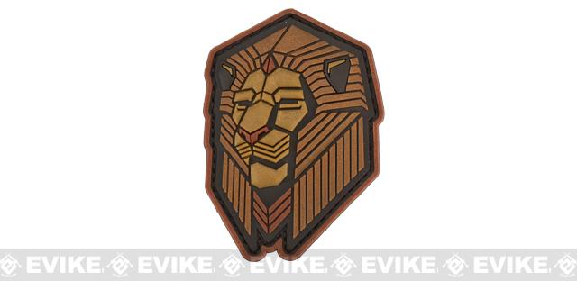 Mil-Spec Monkey Industrial Lion PVC Patch - Bronze