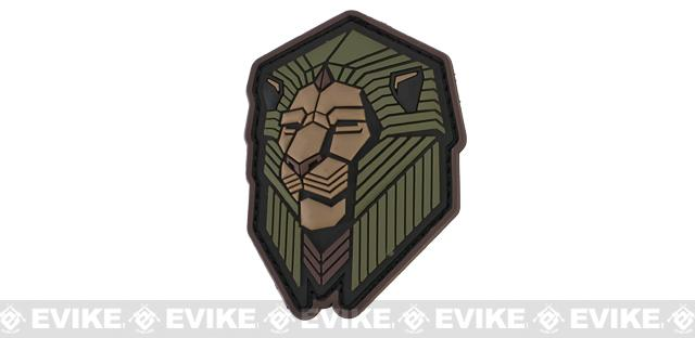 Mil-Spec Monkey Industrial Lion PVC Patch - Forest