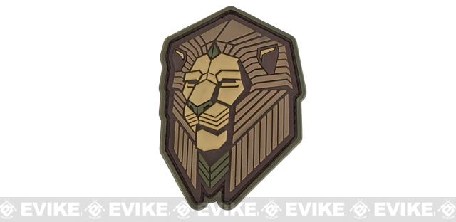 Mil-Spec Monkey Industrial Lion PVC Patch - Multicam