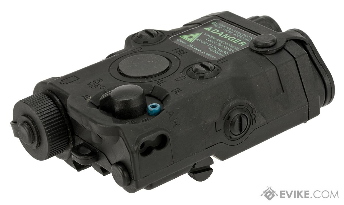 Matrix Airsoft PEQ-15 Battery Box w/ Laser System - Red Laser (Color: Black)