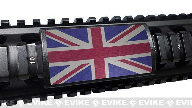 Custom Gun Rails (CGR) Large  Aluminum Rail Cover - United Kingdom Flag
