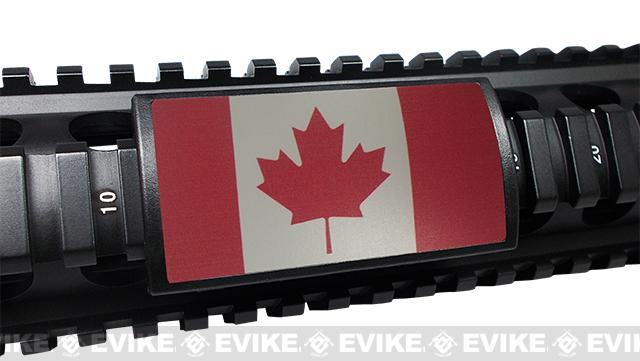 Custom Gun Rails (CGR) Large  Aluminum Rail Cover - Canadian Flag