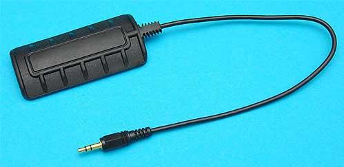 G&P Panel Type Remote Pressure Switch - Black