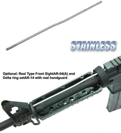 AR-15 / M4-A1 / M4 Carbine Steel Reinforced Gastube for Airsoft AEG (UFC Guarder G&G G&P)