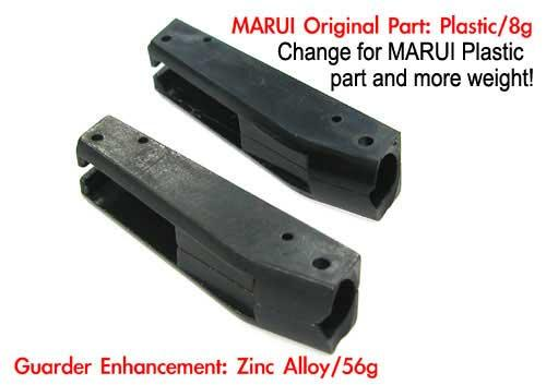 Guarder Hammer Spring Housing Ring Set for Marui KJ WE M9 Series Airsoft Gas Blowback GBB