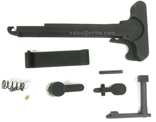 G&P M4 M16 Airsoft AEG Metal Receiver Body Reinforced External Component Set
