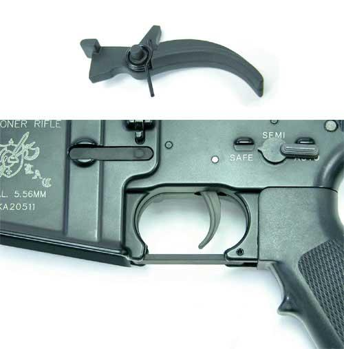 AIM Guarder SHS Full Metal Trigger for M4 M16 Series Airsoft AEG