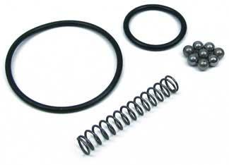 King Arms Replacement / Repair Ball Bearing and O-ring Set for King Arms Type Airsoft Grenades.