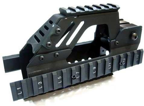 Matrix Nitro Vo. Type Rail Interface System for P90 Series Airsoft AEG