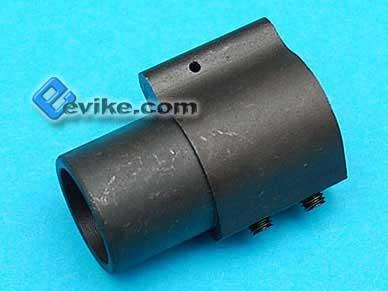 M4 Steel Free Float Low Profile Gas Block Type 3 for M4 / M16 Series Airsoft AEG