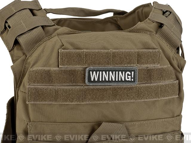 Mil-Spec Monkey Winning Hook and Loop Patch - SWAT