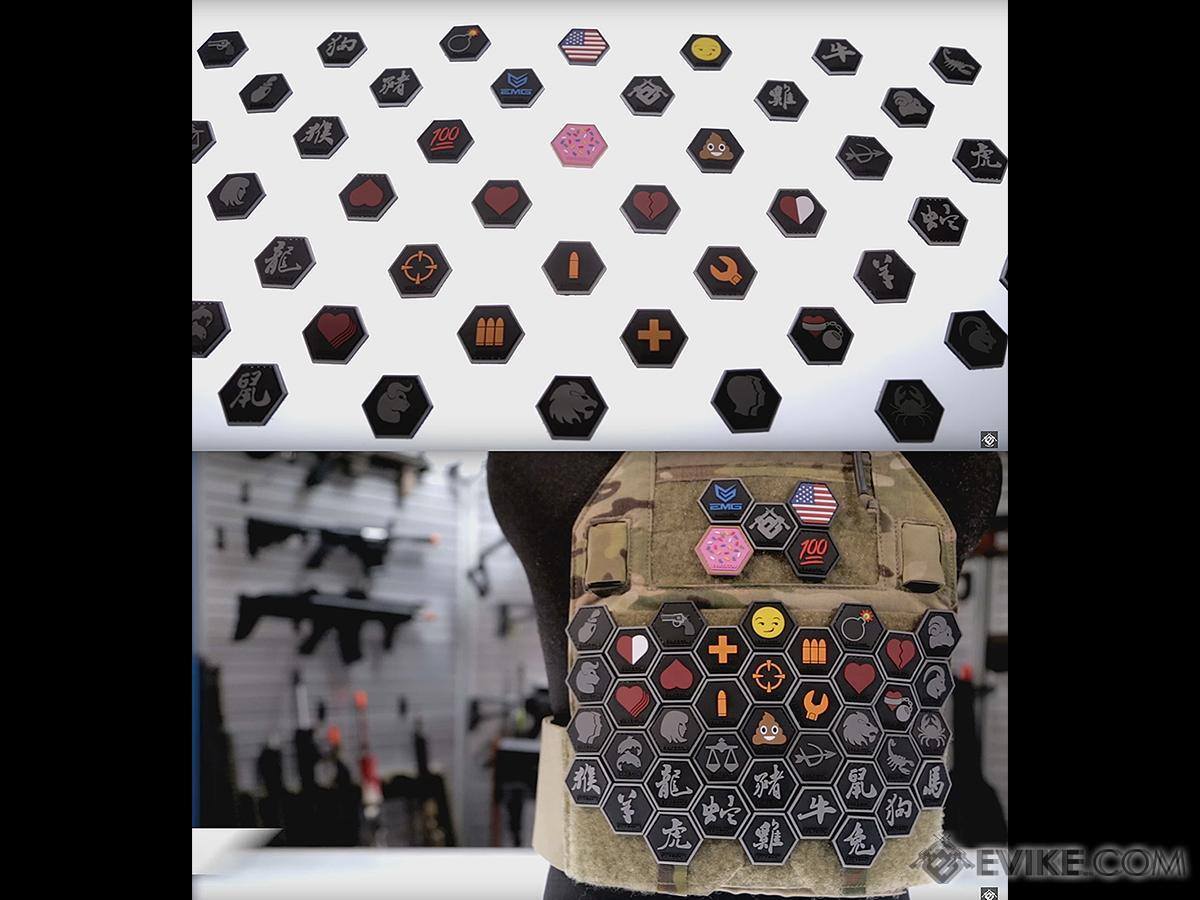 Operator Profile PVC Hex Patch Emoji Series - The Bomb