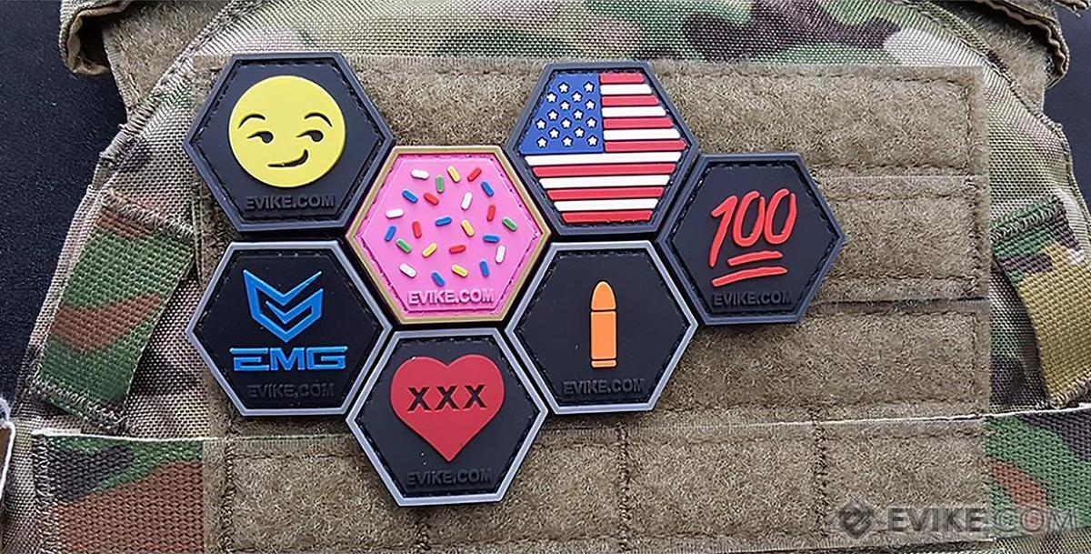 Operator Profile PVC Hex Patch Flag Series (Country: Korea)