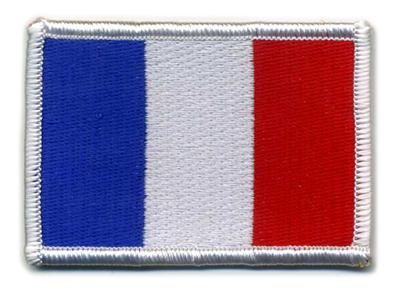 Matrix Hook and Loop France Flag Patch.