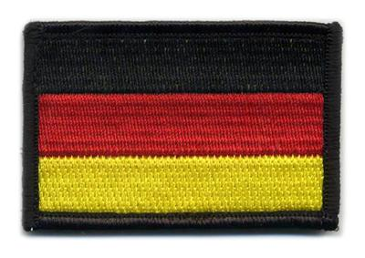 Matrix Hook and Loop Germany Flag Patch.