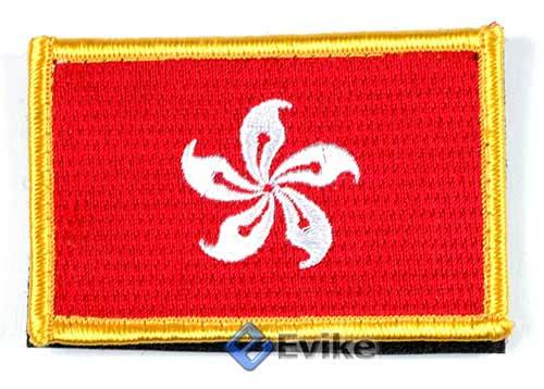 Matrix Hook and Loop Hong Kong Flag Patch