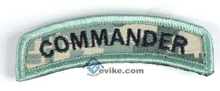 Matrix Commander Tab Hook Backed Morale Patch (ACU)