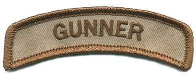 Matrix Gunner Tab Hook Backed Morale Patch (Tan)