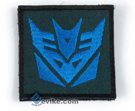 Tactical IFF (Identify Friendly Forces) Transformer 50mm Hook and Loop Patch (Blue)