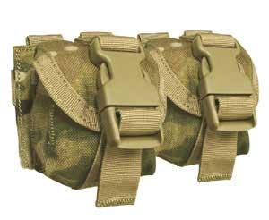 Condor MOLLE Double Frag Grenade Pouch (Multicam Pattern)