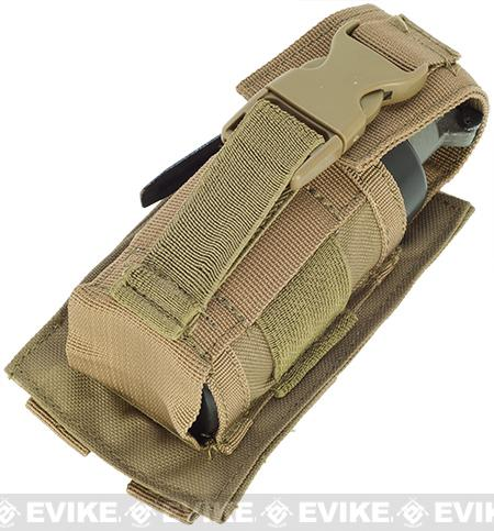 Condor MOLLE Tactical Single Large Flashbang / Grenade Pouch - Tan