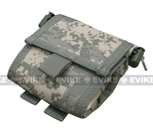 Roll-Up / Foldable Tactical MOLLE Utility Dump Pouch by Phantom - ACU
