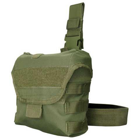 Condor Tactical Drop Leg Dump Pouch - OD Green