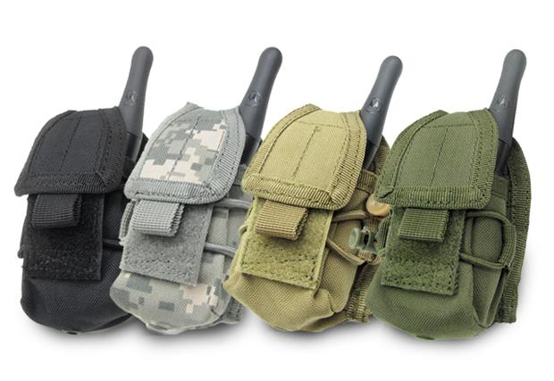 Phantom MOLLE Multi-Purpose Handheld FRS Radio MOLLE Pouch - ACU