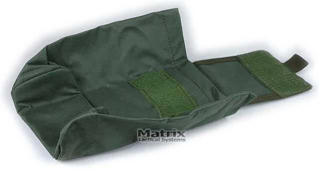 Matrix Tactical Systems Mil-Spec Foldable Mask / Goggle / Utility Dump Pouch - Black