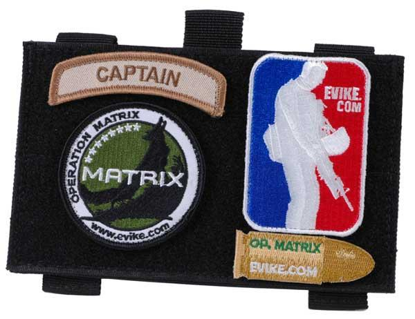 Matrix Tactical Admin / Map Hook and Loop MOLLE Pouch - Black