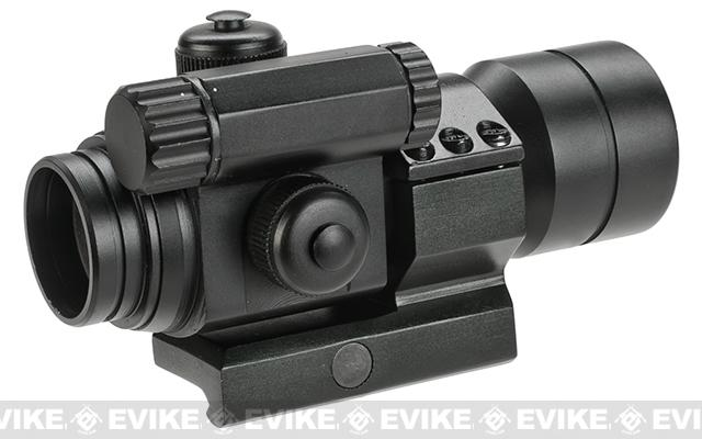 Matrix Military Type 1x30 30mm Red & Green Dot Sight w/ QD Low Profile Mount