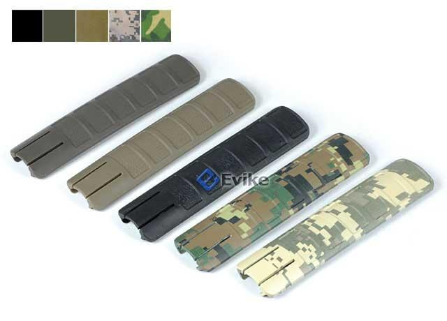 Tactical Hand Guard Rail Cover Pancel Set for Airsoft - Set of 3  (Color: Black)