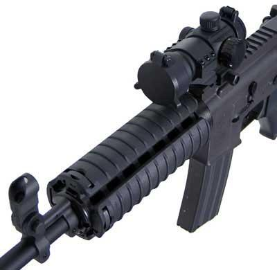 Matrix Special Force Rail Cover - 6 Ribs (Color: Black)