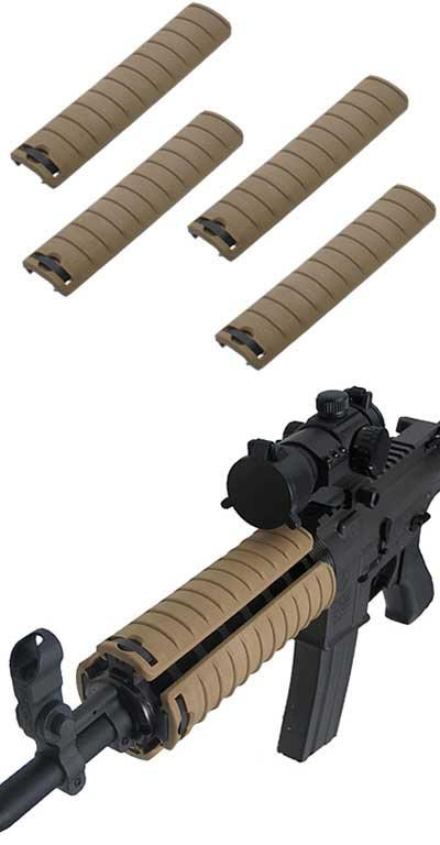 Special Force Tactical Hand Guard Rail Cover Pancel Set for Airsoft  - Set of 4 (Color: Desert Tan)