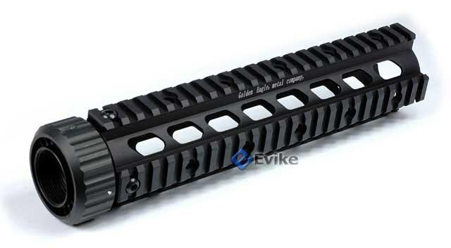 Matrix 10 Free Float Full Metal Rail Interface System for M4 / M16 Series Airsoft AEG