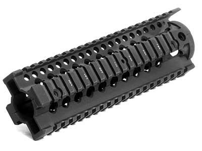 Daniel Defense Licensed Omega 9 RIS for Airsoft AEG by Madbull - Black