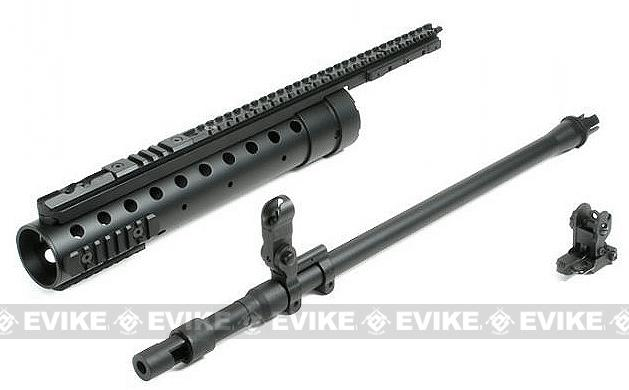 Matrix SPR MOD-0 DMR Fiber Quad Handguard Set for M4 M16 Series Airsoft AEG