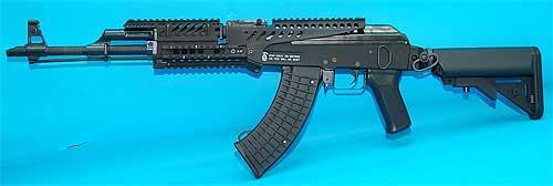 Matrix Tactical X47 Rail System for AK Series Airsoft AEG (Black)