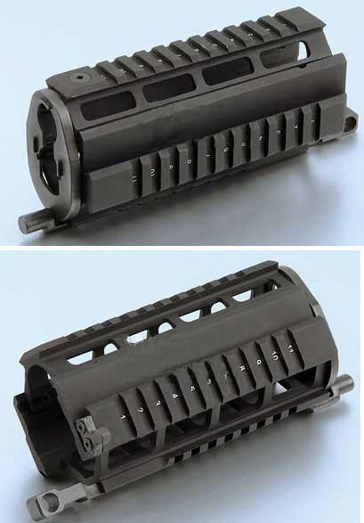 Matrix Aluminum RAS System for Marui / JG / Softair SIG 552 Series Airsoft AEG Rifle