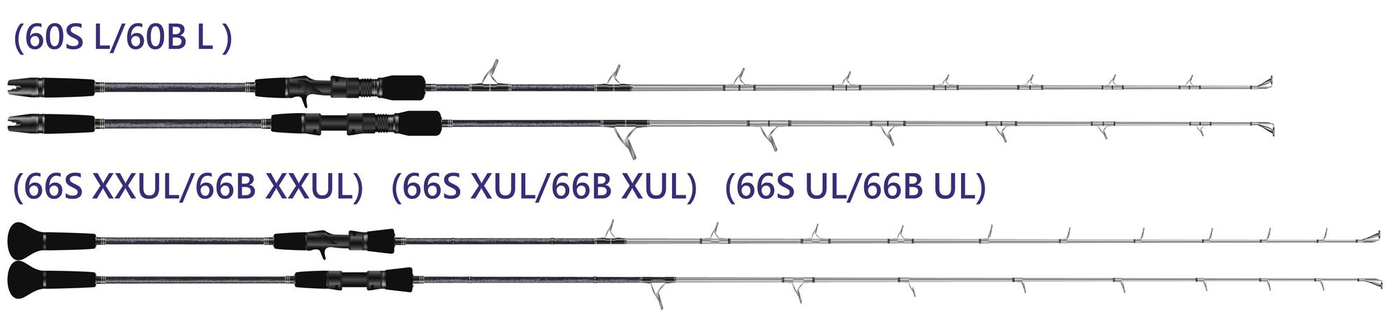Jigging Master Power Spell II Rod - Conventional / Casting (Model: 66B UL)