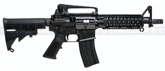 SOCOM Gear / Madbull Licensed Daniel Defense AR15 Lite Rail RAS Airsoft AEG Version (7 / Black)