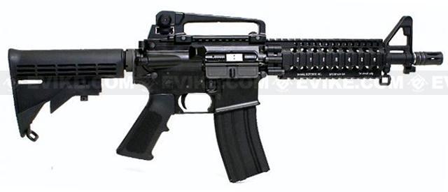 SOCOM Gear / Madbull Licensed Daniel Defense AR15 Lite Rail RAS Airsoft AEG Version (7 / Black)