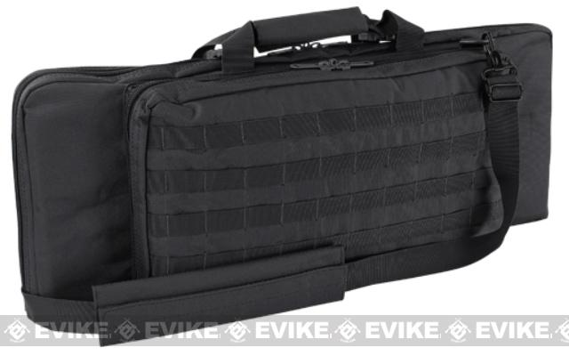 Condor 28 Tactical Padded Double Rifle Bag (Color: Black)