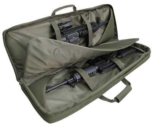 Condor 36 Tactical Padded Double Rifle Bag - OD Green