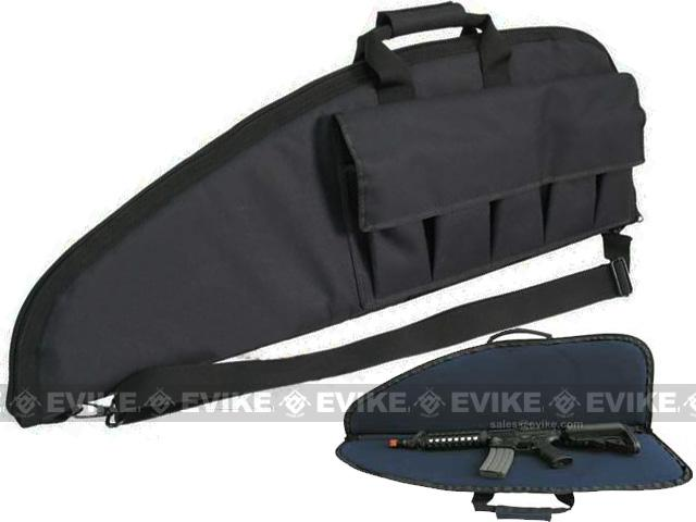 z Evike.com Official Licensed Deluxe Tactical Padded Rifle Bag (Black / 40