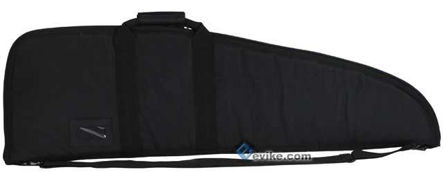 z Evike.com Official Licensed Deluxe Tactical Padded Rifle Bag (Black / 40)