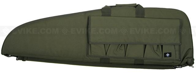 Evike.com Official Licensed Deluxe Tactical Padded Rifle Bag (OD Green / 42